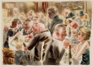 No. 73 Restaurant (ca. 1925, Berlin)