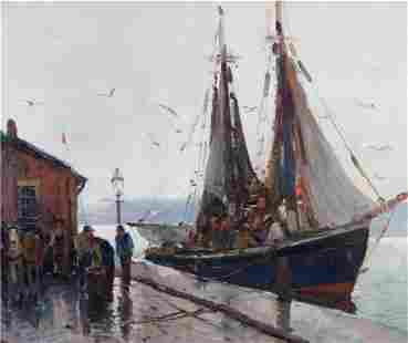 Rainy Dock