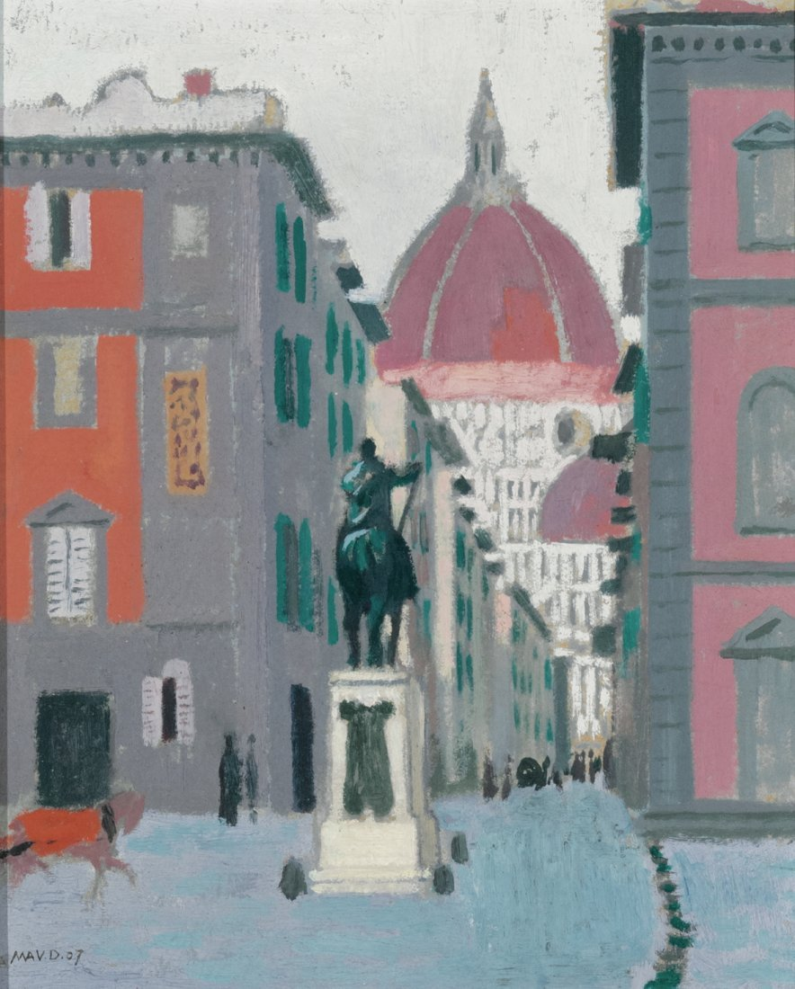 Maurice Denis Florence with a View of the Duomo, 1907