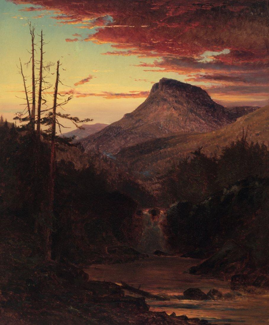 American School American Sunset
