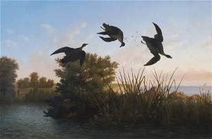 Albert Bierstadt Duck Shooting ca. 1858