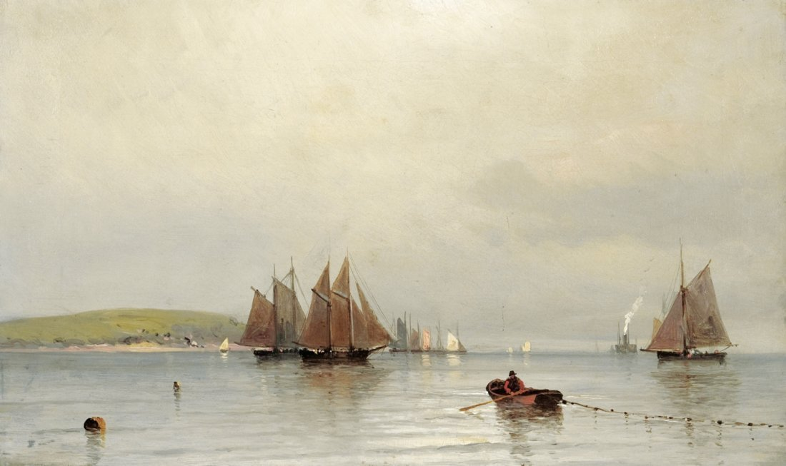 Francis Augustus Silva Afternoon in New York Bay