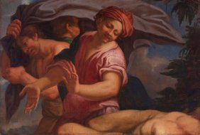 Probably Italian School 17th C. -  The Nakedness of