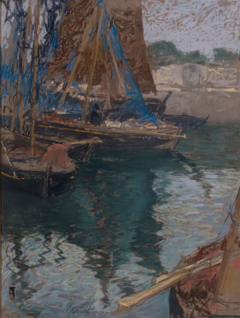 Charles Fromuth -  Sea Rover at Rest, 1900