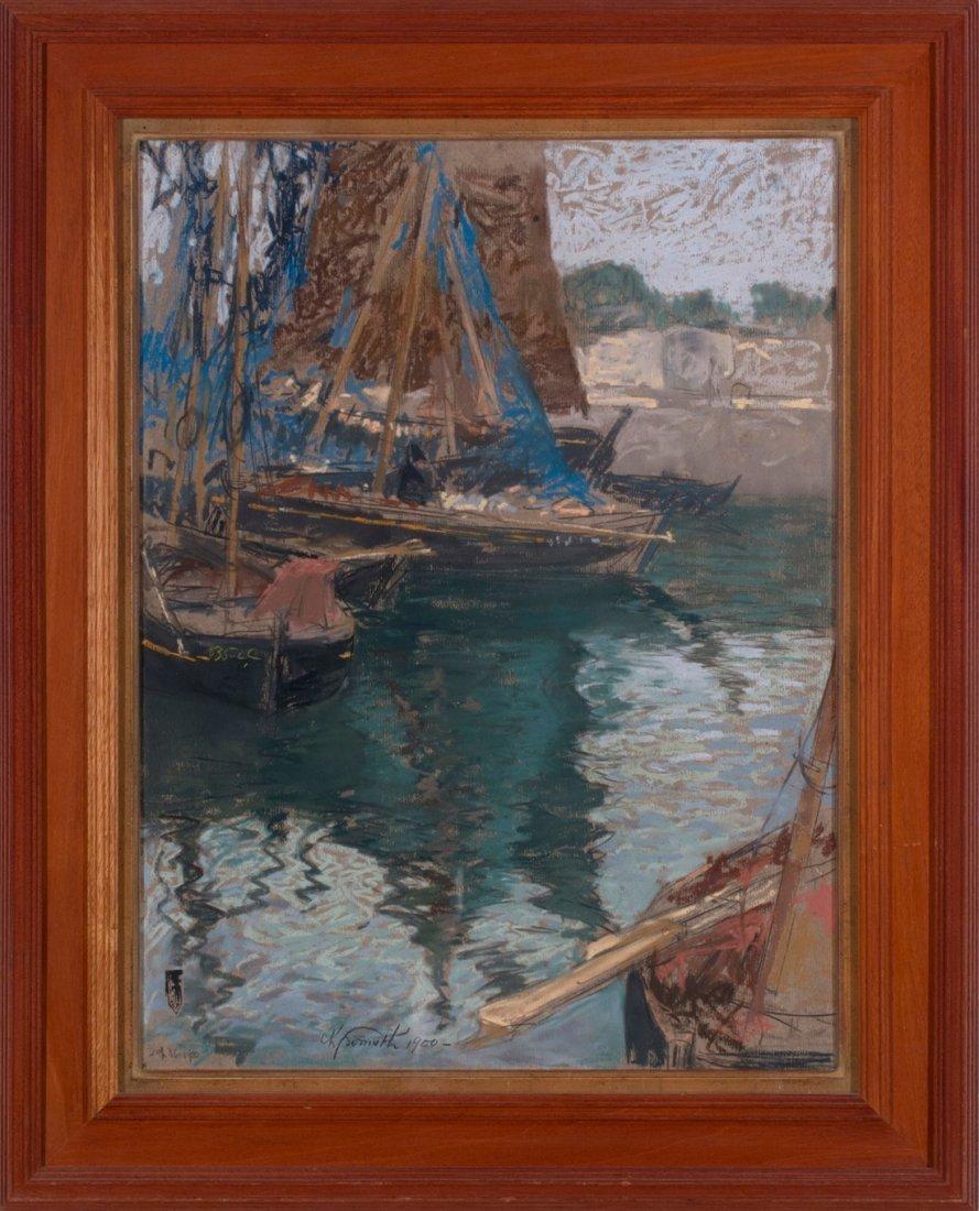 Charles Fromuth -  Sea Rover at Rest, 1900 - 2