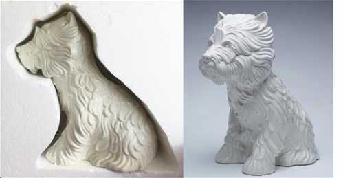 Jeff Koons Puppy Vase
