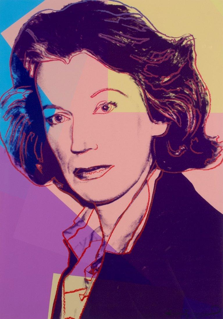 Andy Warhol -  Portrait of Mildred Scheel
