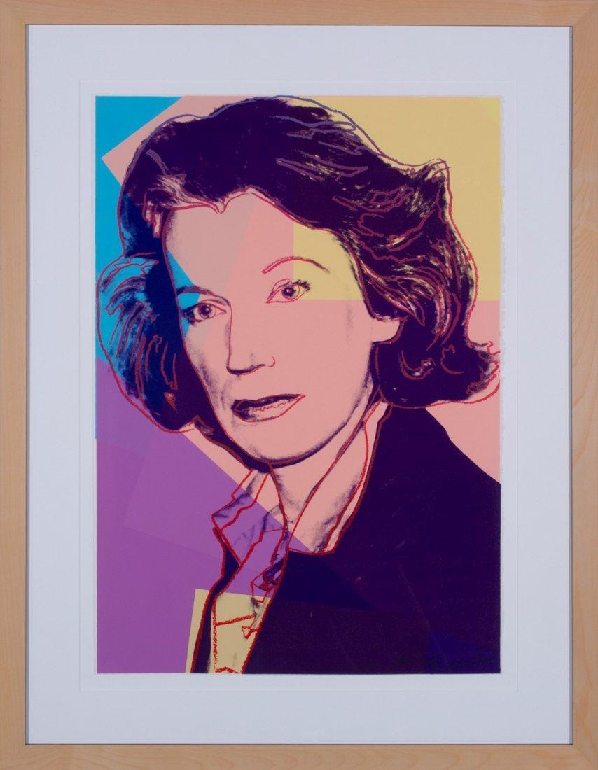 Andy Warhol -  Portrait of Mildred Scheel - 2
