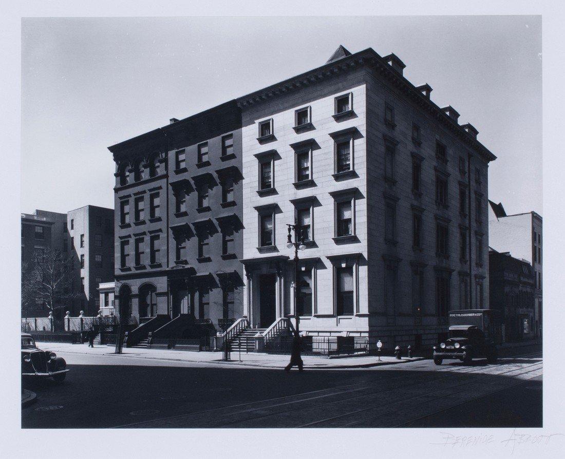 Berenice Abbott -  Fifth Avenue Houses, #4, 6, 8, 1936