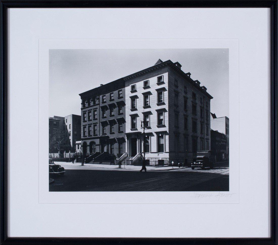 Berenice Abbott -  Fifth Avenue Houses, #4, 6, 8, 1936 - 2