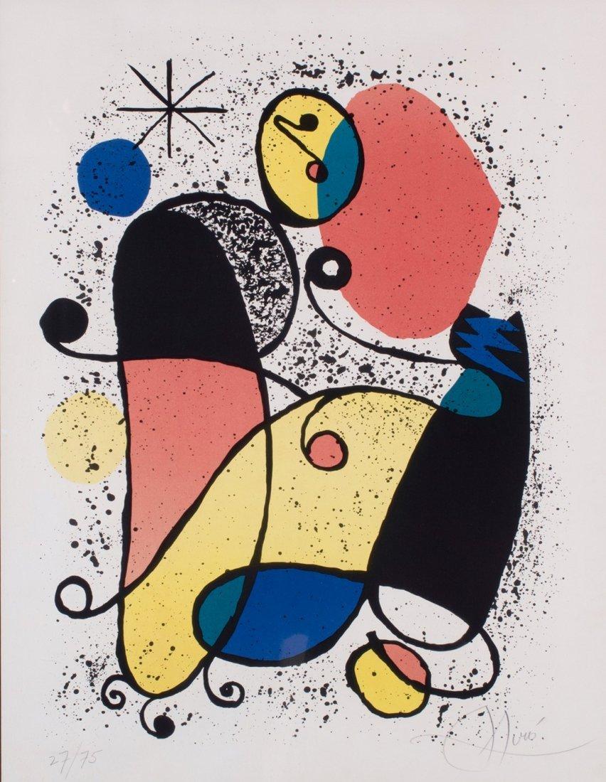 Joan Miro -  Abstract