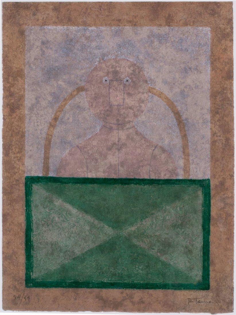 Rufino Tamayo -  Torso En Rosa, 1980 - 2