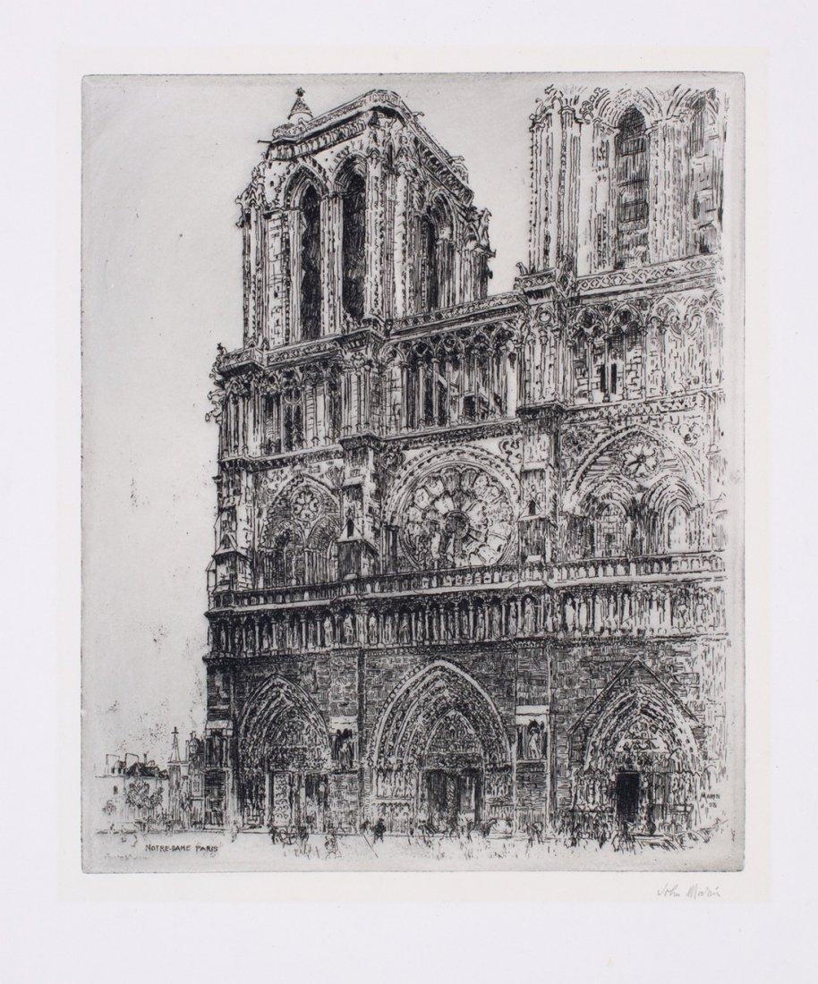 John Marin -  Notre Dame, Paris