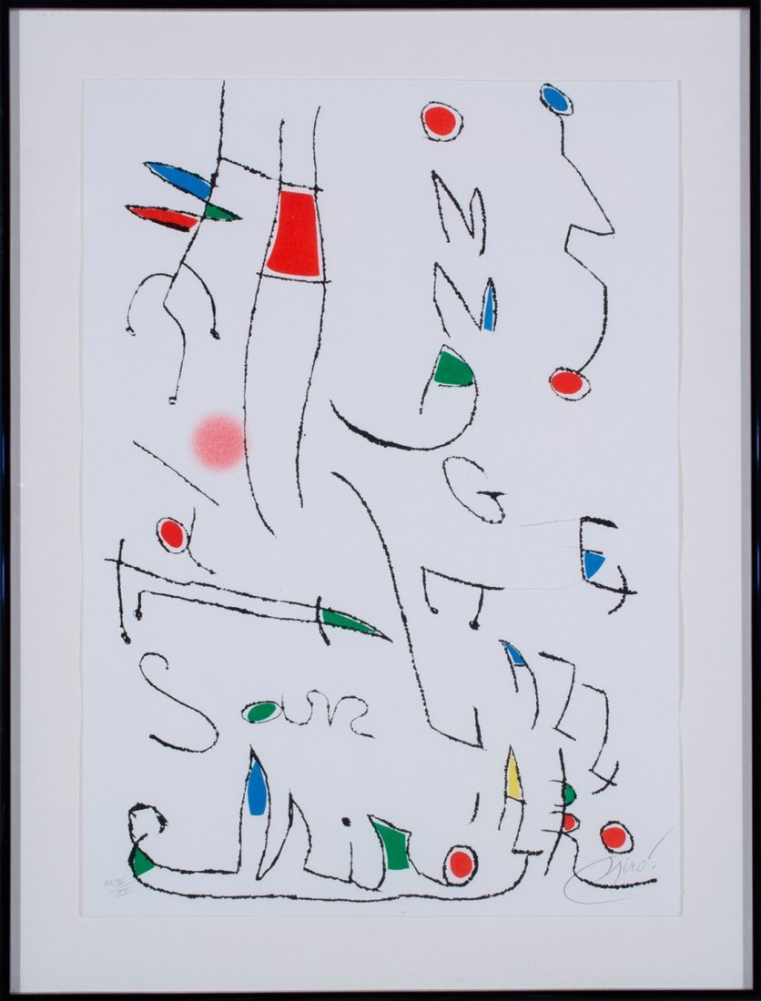 Joan Miró -  Untitled - 2