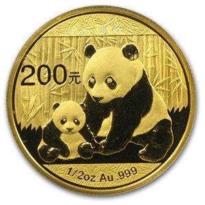 2012 1/2 oz Gold Chinese Panda (Sealed)