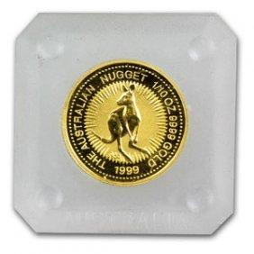 1999 1/10 oz Australian Gold Nugget