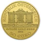 2012 1/2 oz Gold Austrian Philharmonic