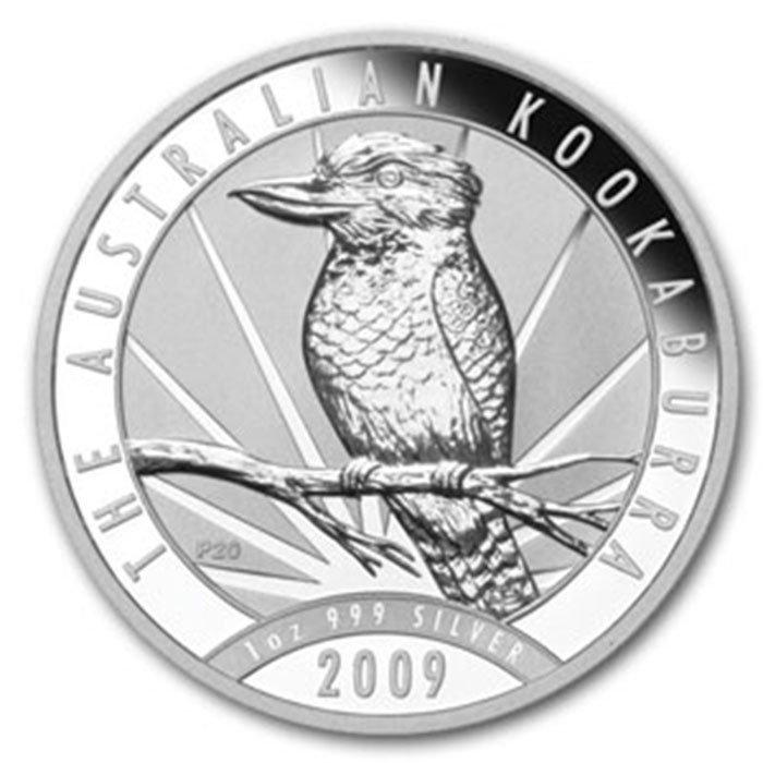 2009 1 oz Silver Australian Kookaburra