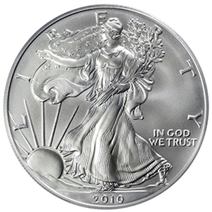 1 oz Uncirculated Silver American Eagle (Random Year)