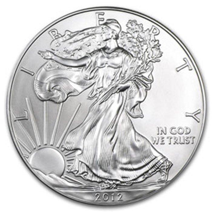 2012 1 oz Uncirculated Silver American Eagle