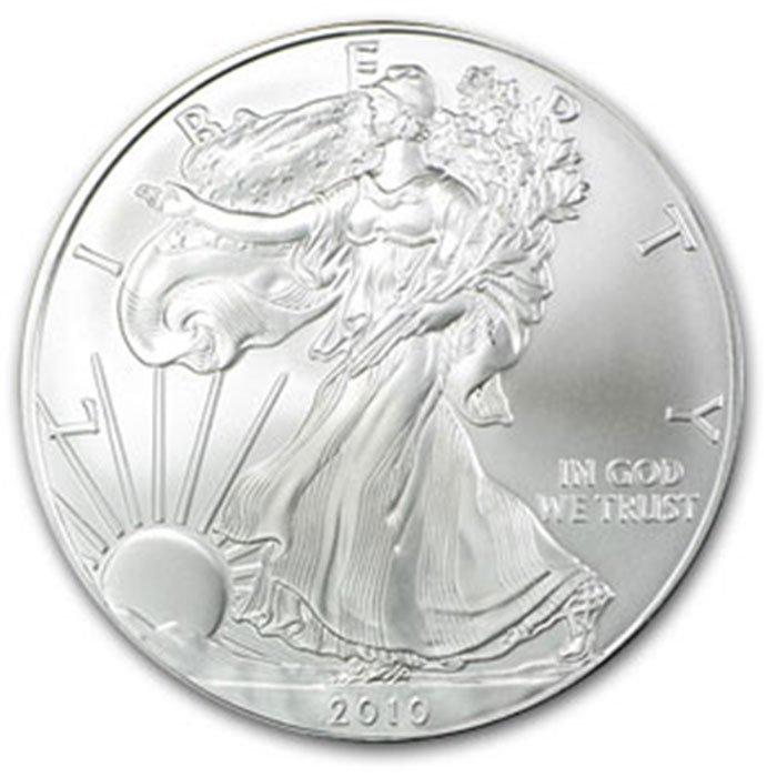 2010 1 oz Uncirculated  Silver American Eagle