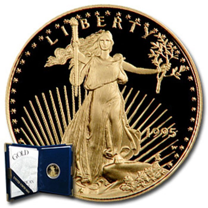 1995-W 1/4 oz Proof Gold American Eagle