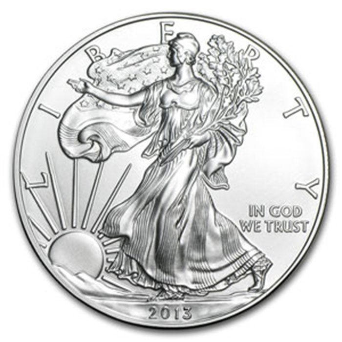 2013 1 oz Uncirculated Silver American Eagle