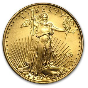 1999-W 1/4 oz Proof Gold American Eagle