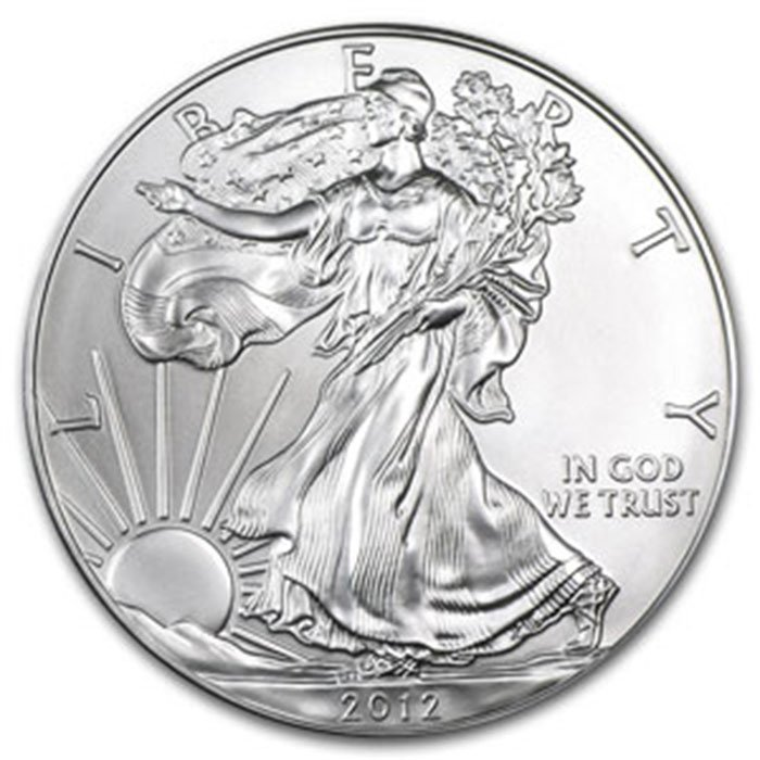 2012 1 oz Uncirculated Silver American Eagle