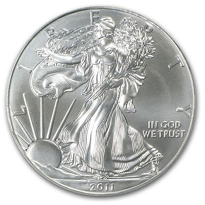 2011 1 oz Uncirculated Silver American Eagle