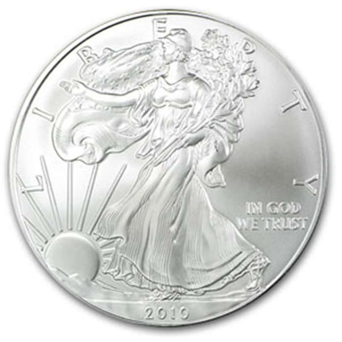 2010 1 oz Uncirculated  Silver American Eagle