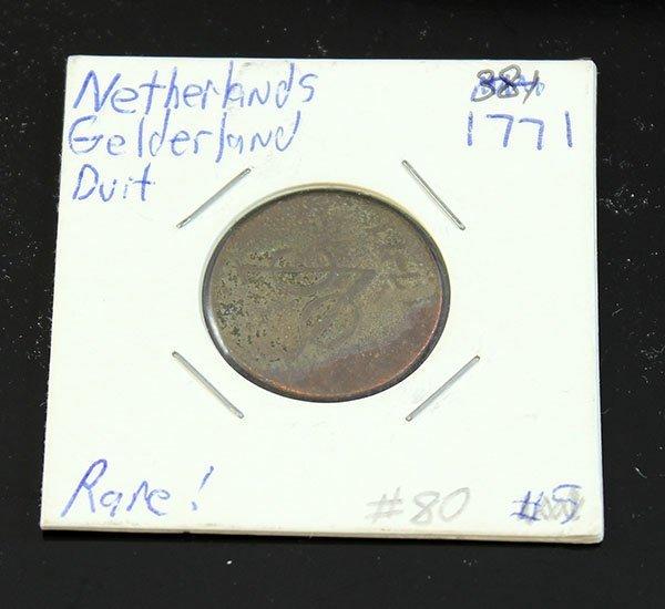 1771 NETHERLandS GELDERLand DUIT