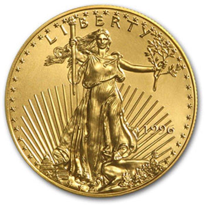 1996-W 1/4 oz Proof Gold American Eagle