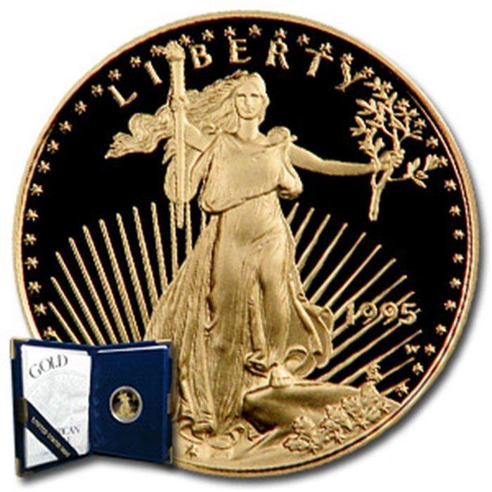 1995-W 1/4 oz Proof Gold American Eagle