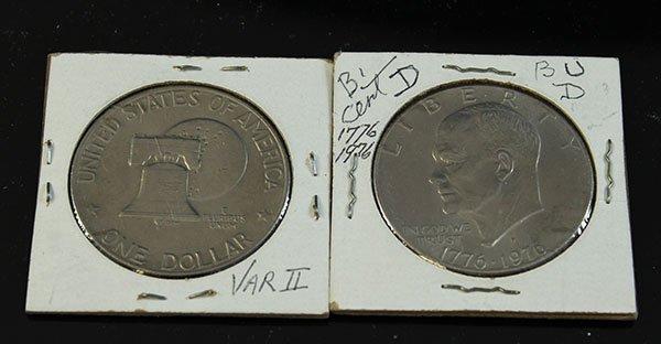 1776/1976 P BI-CENT $1 40 PERCENT SIL VRIETY II BU (pcs