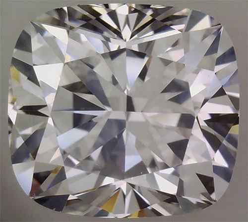 Certified Diamond CUSHION 2.0 F SI1 GI