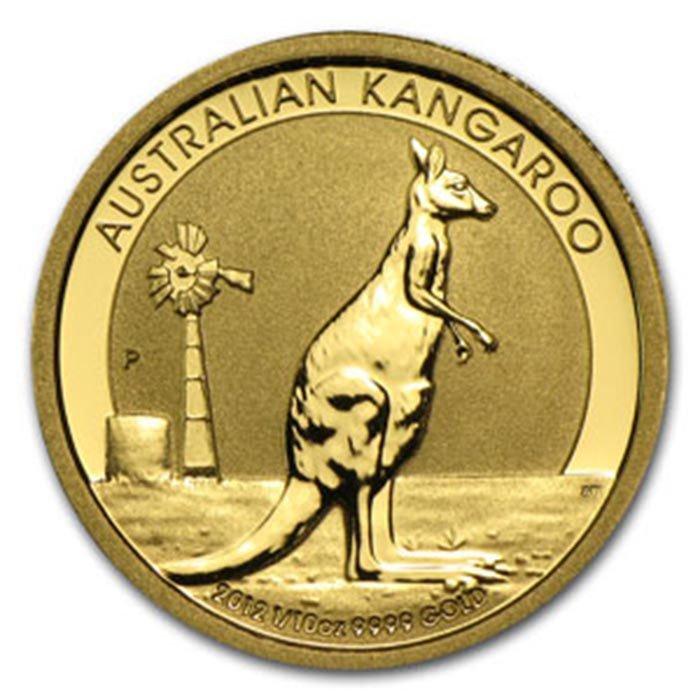2012 1/10 oz Australian Gold Kangaroo