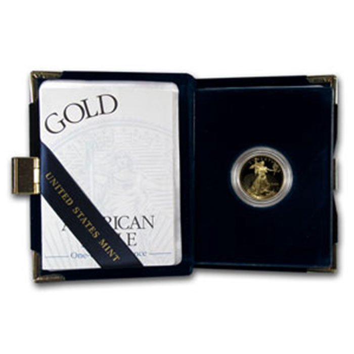 2000-W 1/4 oz Proof Gold American Eagle