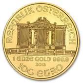 2013 1 oz Gold Austrian Philharmonic