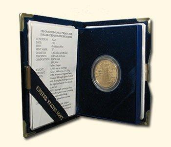 1993-P 1/2 oz Proof Gold American Eagle