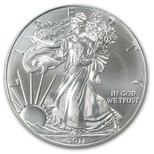 2011 1 oz Uncirculated Silver American Eagle