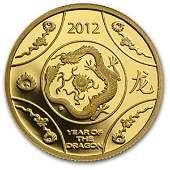 Royal Australian Mint 2012 1/10 oz Gold Proof- Year of