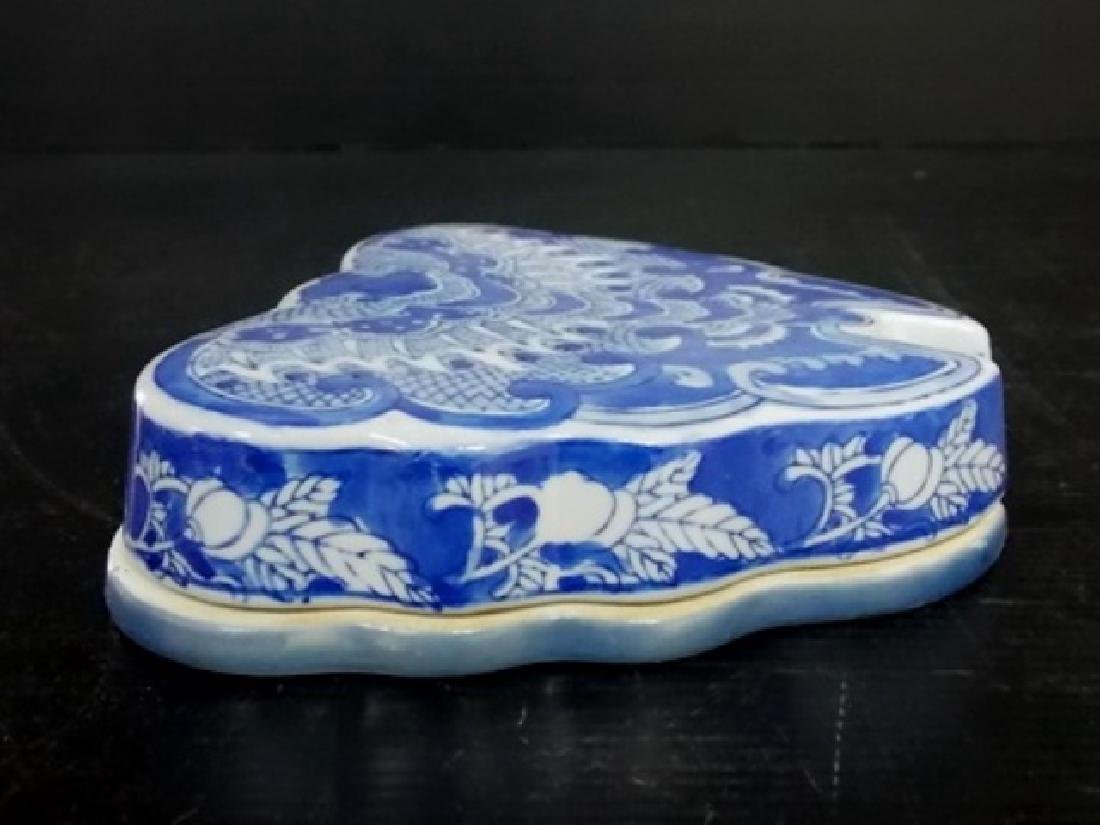 CHINESE PORCELAIN SUSHI BUTTERFLY BOWL SET - 5