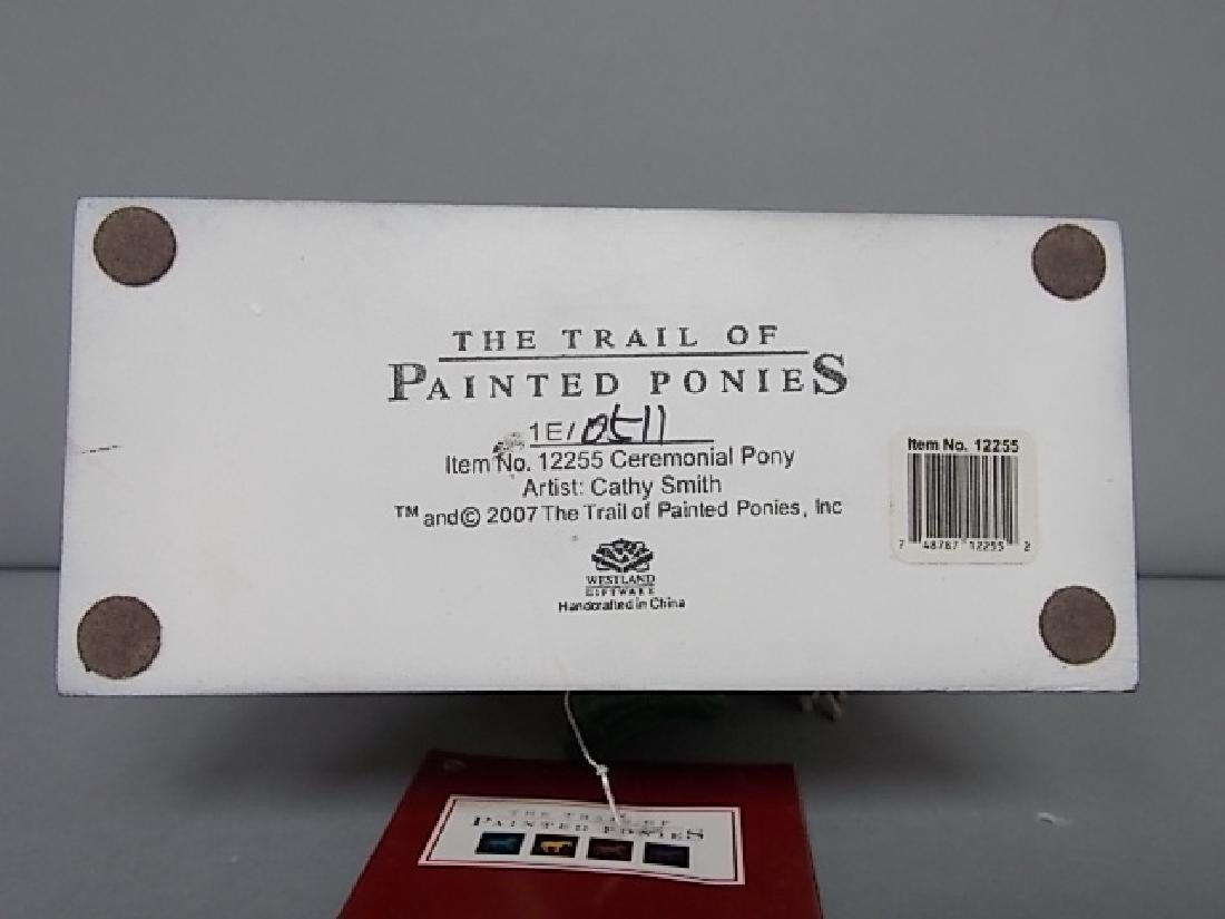 TRAIL OF PAINTED PONIES CEREMONIAL PONY FIGURE 1ST ED. - 4