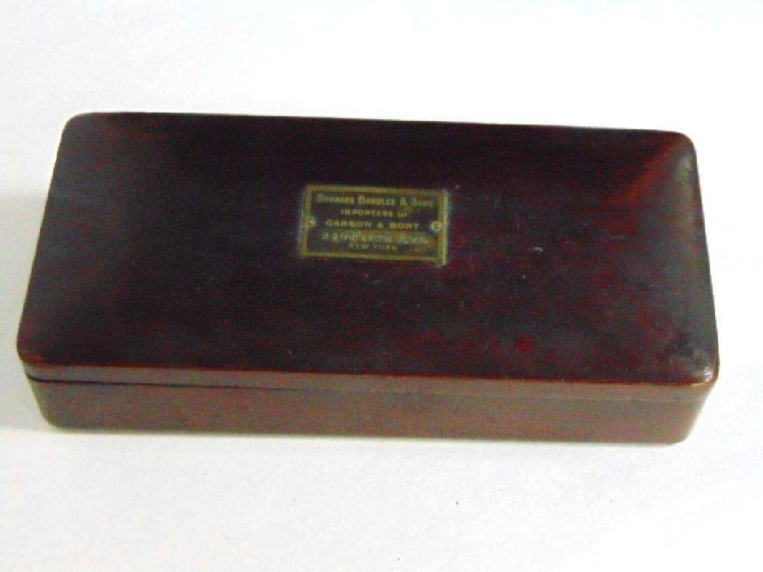 ANTIQUE HIGH END GOLD OR DIAMOND FIFTH AVE POCKET SCALE - 4