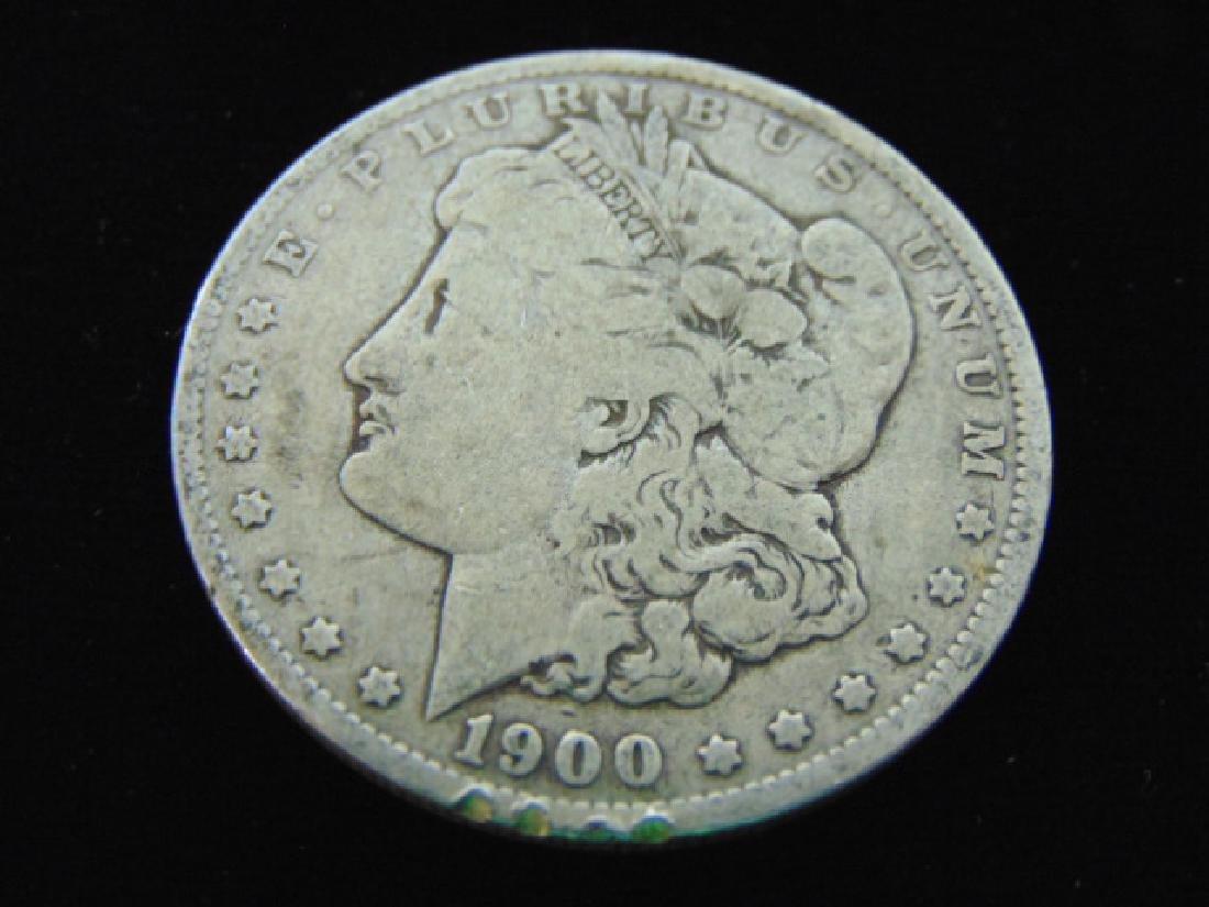 1900 - O MORGAN SILVER DOLLAR ESTATE FIND