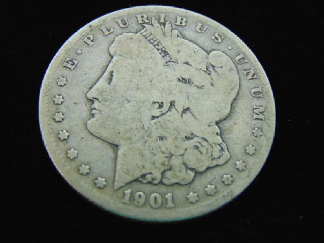 1901 - O MORGAN SILVER DOLLAR ESTATE FIND
