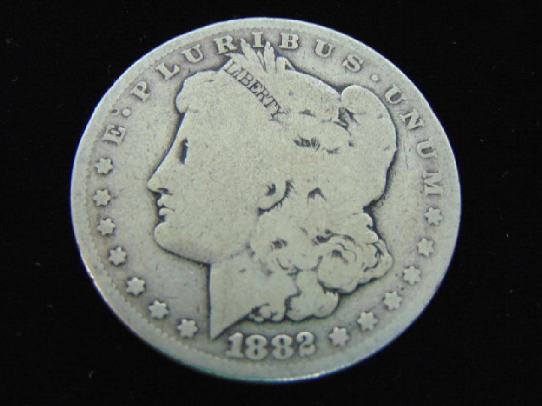 1882 MORGAN SILVER DOLLAR COIN ESTATE FIND
