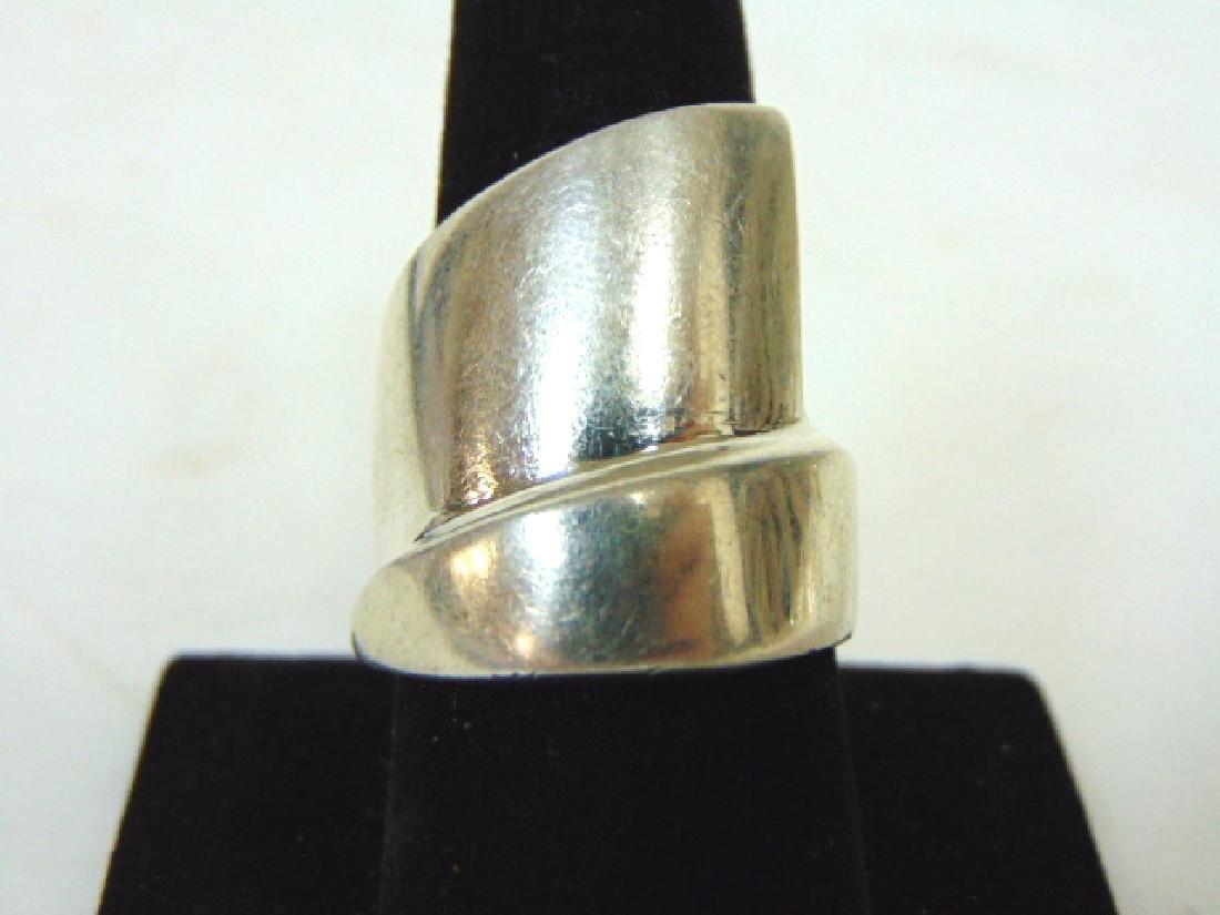 Vintage Estate Sterling Silver Ring