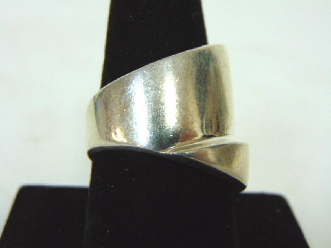 Vintage Estate Sterling Silver Ring - 2